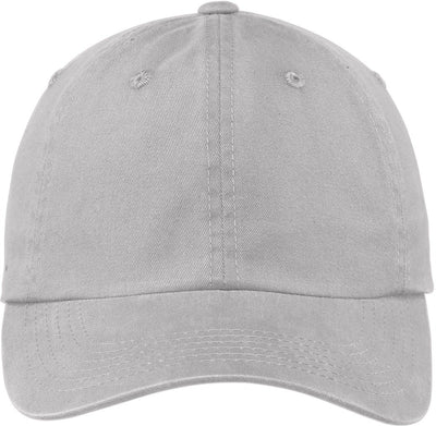 Port Authority-Garment Dyed Cap-Chrome-Thread Logic
