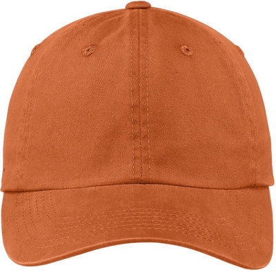 Port Authority-Garment Dyed Cap-Cooked Carrot-Thread Logic