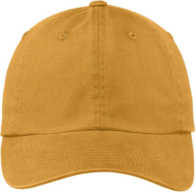 Port Authority-Garment Dyed Cap-Dandelion-Thread Logic