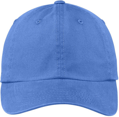 Faded Blue Garment Dyed Cap