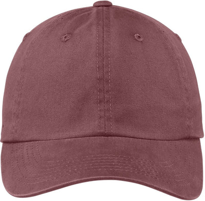 Port Authority-Garment Dyed Cap-Maroon-Thread Logic