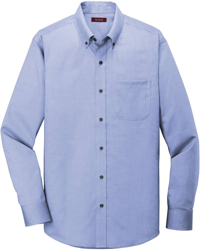 Red House-Red House Pinpoint Oxford Non-Iron Shirt-XS-Vintage Navy-Thread Logic