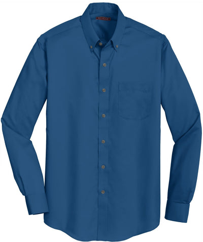 Red House-Red House Non-Iron Twill Dress Shirt-S-Blue Horizon-Thread Logic