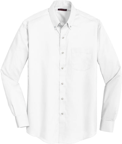 Red House-Red House Non-Iron Twill Dress Shirt-S-White-Thread Logic