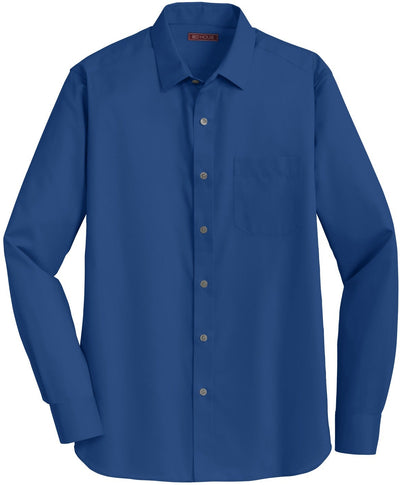 Red House-Red House Slim Fit Non-Iron Twill Shirt-S-Blue Horizon-Thread Logic