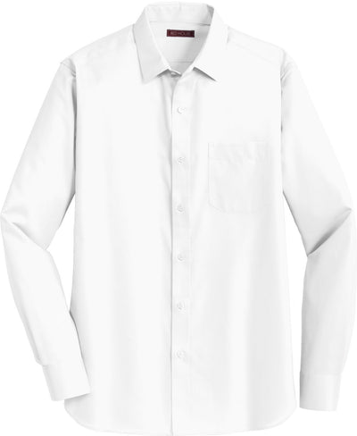 Red House-Red House Slim Fit Non-Iron Twill Shirt-S-White-Thread Logic