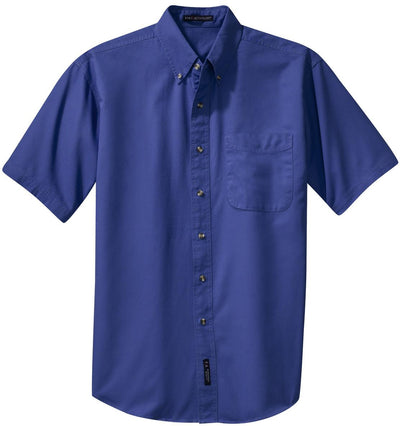 Port Authority Short Sleeve Twill Shirt-Men's Dress Shirts-Thread Logic