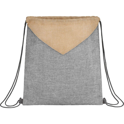 Elevate-Kai Drawstring Bag-Grey-Thread Logic
