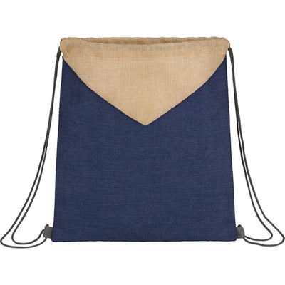 Elevate-Kai Drawstring Bag-Navy Blue-Thread Logic