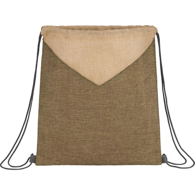 Elevate-Kai Drawstring Bag-Olive-Thread Logic