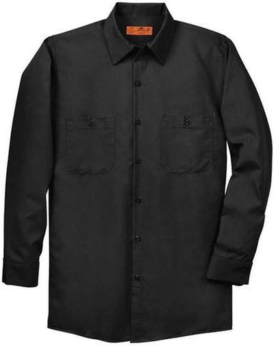 Red Kap-Red Kap Long Sleeve Industrial Work Shirt-S-Black-Thread Logic