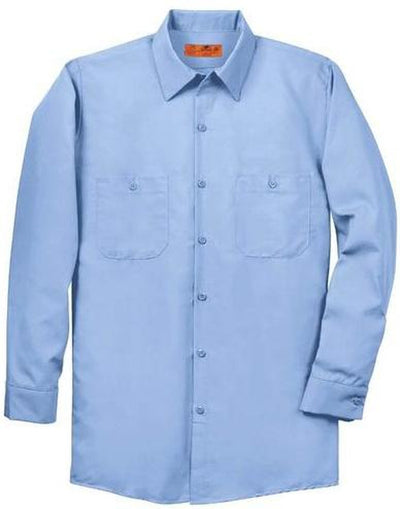 Red Kap-Red Kap Long Sleeve Industrial Work Shirt-S-Light Blue-Thread Logic