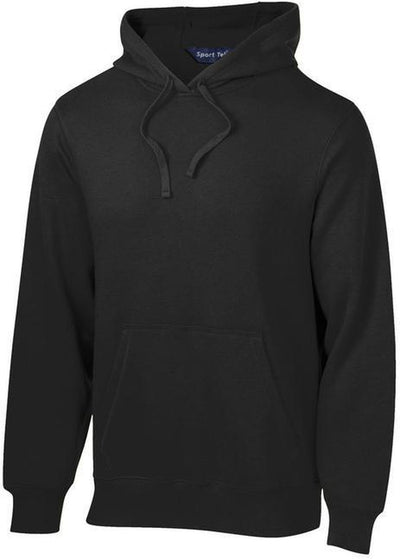 Sport Tek-Tall Pullover Hooded Sweatshirt-LT-Black-Thread Logic