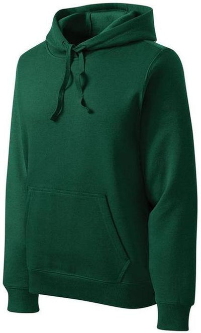 Sport Tek-Tall Pullover Hooded Sweatshirt-LT-Forest Green-Thread Logic