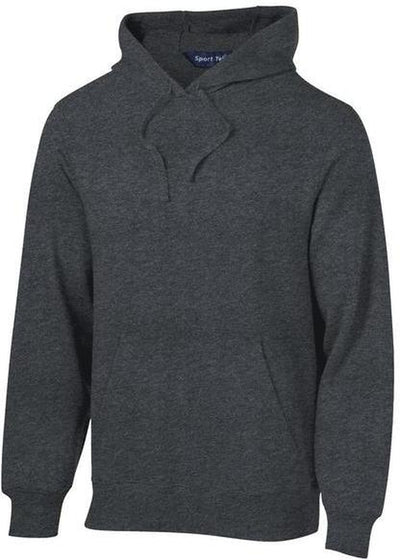 Sport Tek-Tall Pullover Hooded Sweatshirt-LT-Graphite Heather-Thread Logic