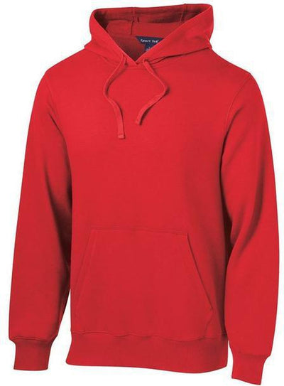Sport Tek-Tall Pullover Hooded Sweatshirt-LT-True Red-Thread Logic