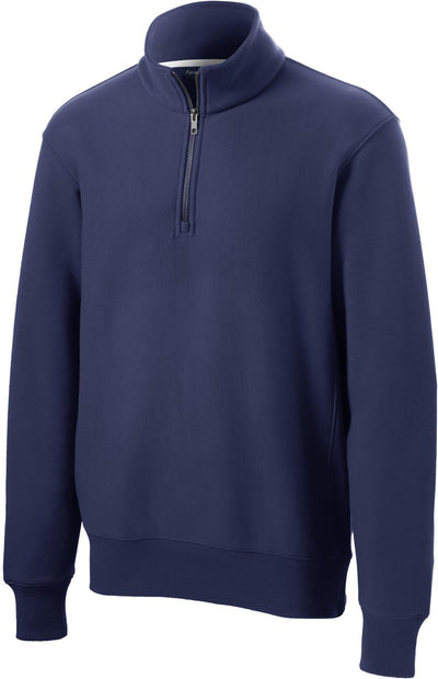 Sport Tek-Super Heavyweight 1/4 Zip Pullover-S-True Navy-Thread Logic