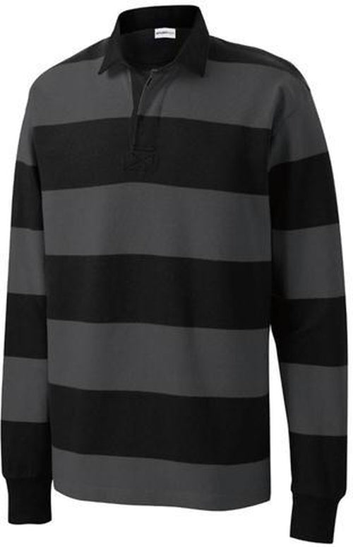 Sport Tek Classic Long Sleeve Rugby Polo With Your Logo Thread Logic Get the latest results, fixtures and live scores, plus coverage of six nations, gallagher premiership, world cups & much more. sport tek classic long sleeve rugby polo