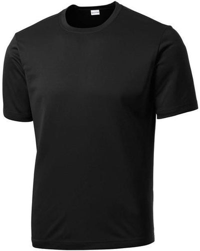 Sport Tek-Tall PosiCharge Competitor Tee-LT-Black-Thread Logic
