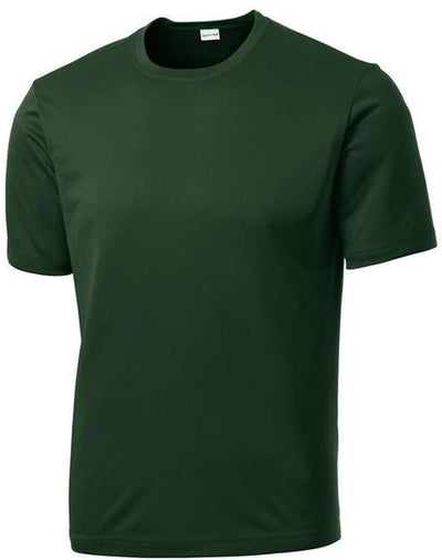 Sport Tek-Tall PosiCharge Competitor Tee-LT-Forest Green-Thread Logic