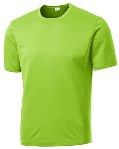 Sport Tek-Tall PosiCharge Competitor Tee-LT-Lime Shock-Thread Logic