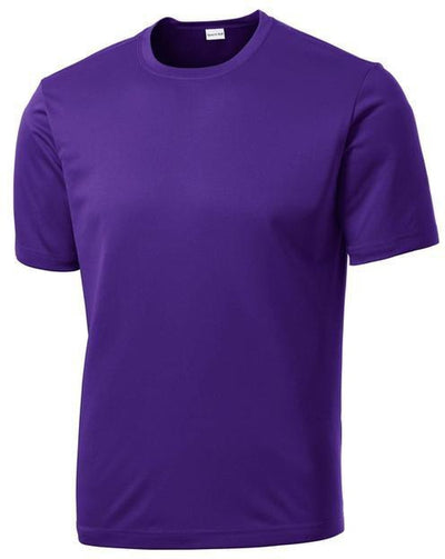 Sport Tek-Tall PosiCharge Competitor Tee-LT-Purple-Thread Logic