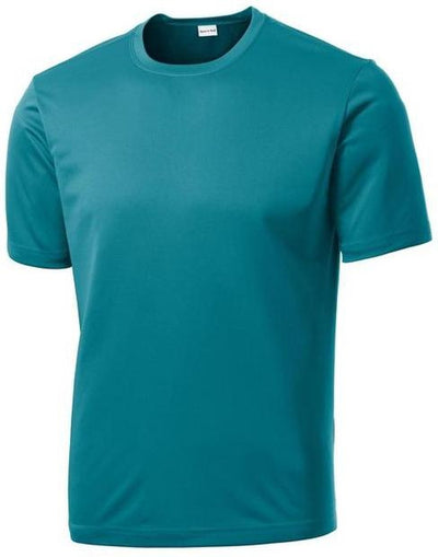 Sport Tek-Tall PosiCharge Competitor Tee-LT-Tropic Blue-Thread Logic