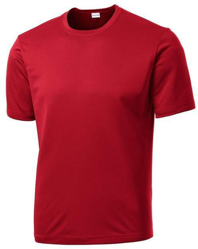 Sport Tek-Tall PosiCharge Competitor Tee-LT-True Red-Thread Logic