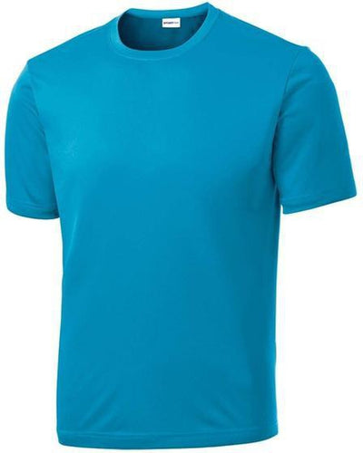Sport Tek-Tall PosiCharge Competitor Tee-LT-Atomic Blue-Thread Logic