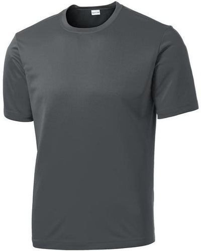 Sport Tek-Tall PosiCharge Competitor Tee-LT-Iron Grey-Thread Logic