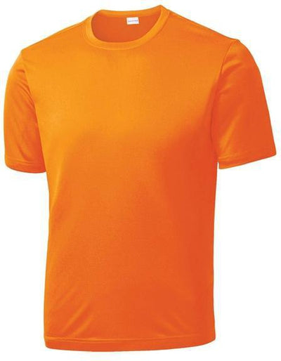 Sport Tek-Tall PosiCharge Competitor Tee-LT-Neon Orange-Thread Logic