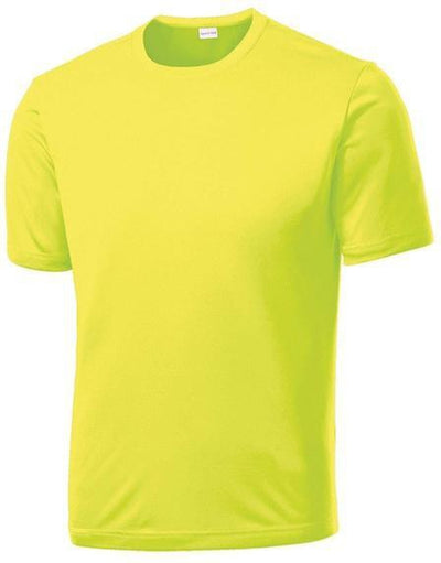 Sport Tek-Tall PosiCharge Competitor Tee-LT-Neon Yellow-Thread Logic