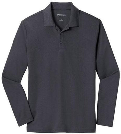 Sport-Tek PosiCharge RacerMesh Long Sleeve Polo