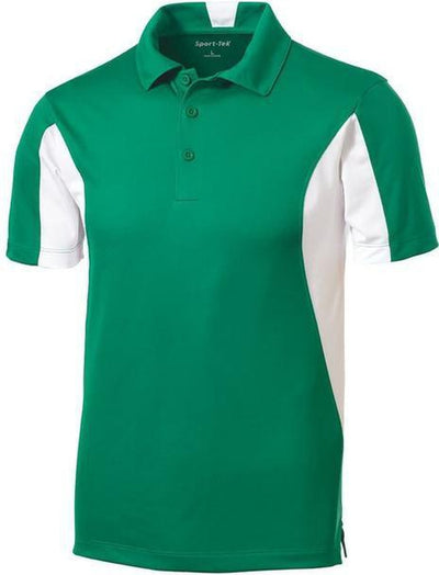 Sport Tek-Side Blocked Micropique Polo Shirt-S-Kelly-Thread Logic