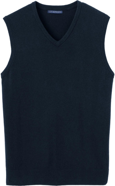 Port Authority-Sweater Vest-S-Navy-Thread Logic