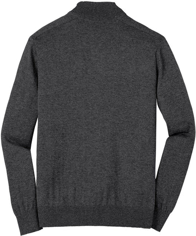 Port Authority-1/2-Zip Sweater-Thread Logic no-logo