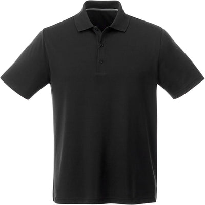Elevate-OTIS Short Sleeve Polo-S-Black-Thread Logic