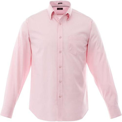 Elevate-Cromwell Long Sleeve Dress Shirt-S-Pink Zircon-Thread Logic