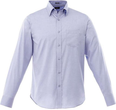 Elevate-Cromwell Long Sleeve Dress Shirt-S-China Blue-Thread Logic