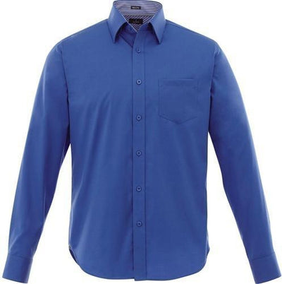 Elevate-Cromwell Long Sleeve Dress Shirt-S-New Royal-Thread Logic