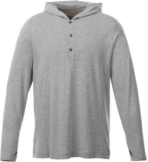 Elevate-ASHLAND Knit Hoody-S-Heather Grey-Thread Logic