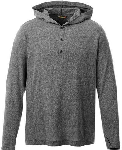 Elevate-ASHLAND Knit Hoody-S-Heather Dark Charcoal-Thread Logic