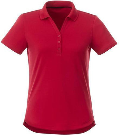 Elevate-Ladies OTIS Short Sleeve Polo-S-Team Red-Thread Logic
