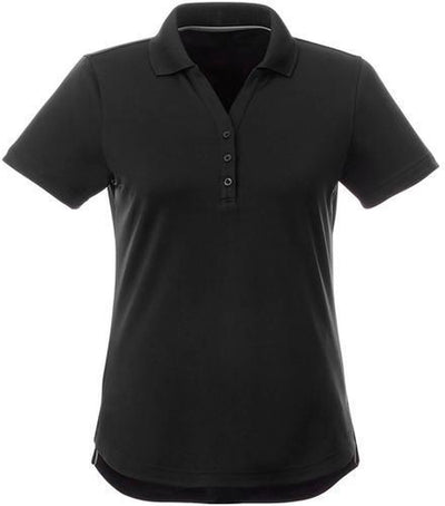 Elevate-Ladies OTIS Short Sleeve Polo-S-Black-Thread Logic