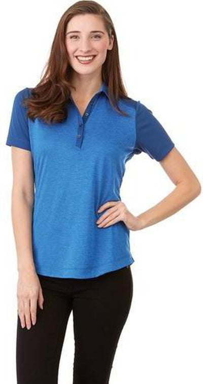 Elevate-Ladies SAGANO Short Sleeve Polo-Thread Logic no-logo