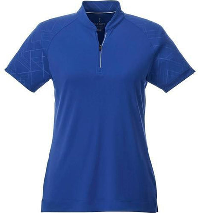 Elevate-Ladies HAKONE Short Sleeve Polo-S-New Royal-Thread Logic
