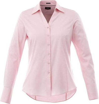 Elevate-Ladies Cromwell Long Sleeve Dress Shirt-XS-Pink Zircon-Thread Logic
