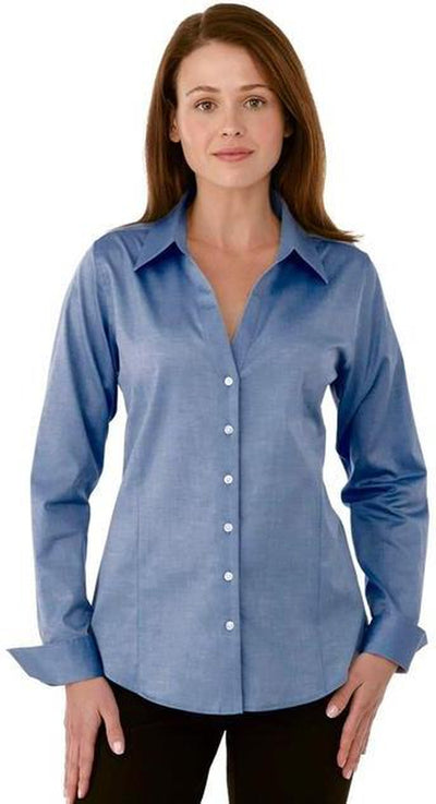 Elevate-Ladies Cromwell Long Sleeve Dress Shirt-Thread Logic