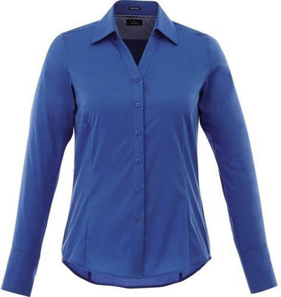 Elevate-Ladies Cromwell Long Sleeve Dress Shirt-XS-New Royal-Thread Logic