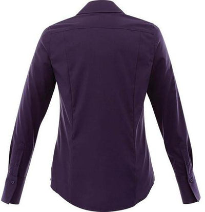 Elevate-Ladies Cromwell Long Sleeve Dress Shirt-Thread Logic no-logo